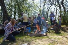Ostersamstag mit Lagerfeuer - Aktion zur Verbesserung des Artenschutzes