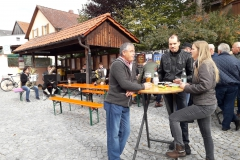 Weißbier-Frühschoppen mit Bürgermeisterkandidat Christian Blüml