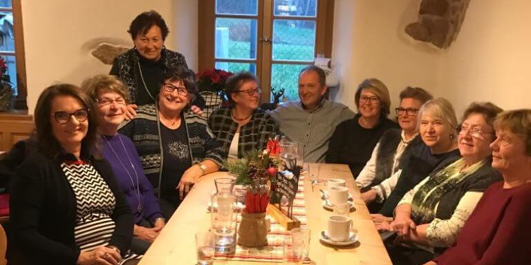 Frauenunion zu Gast im Armenspital bei Bürgermeisterkandidat Christian Blüml