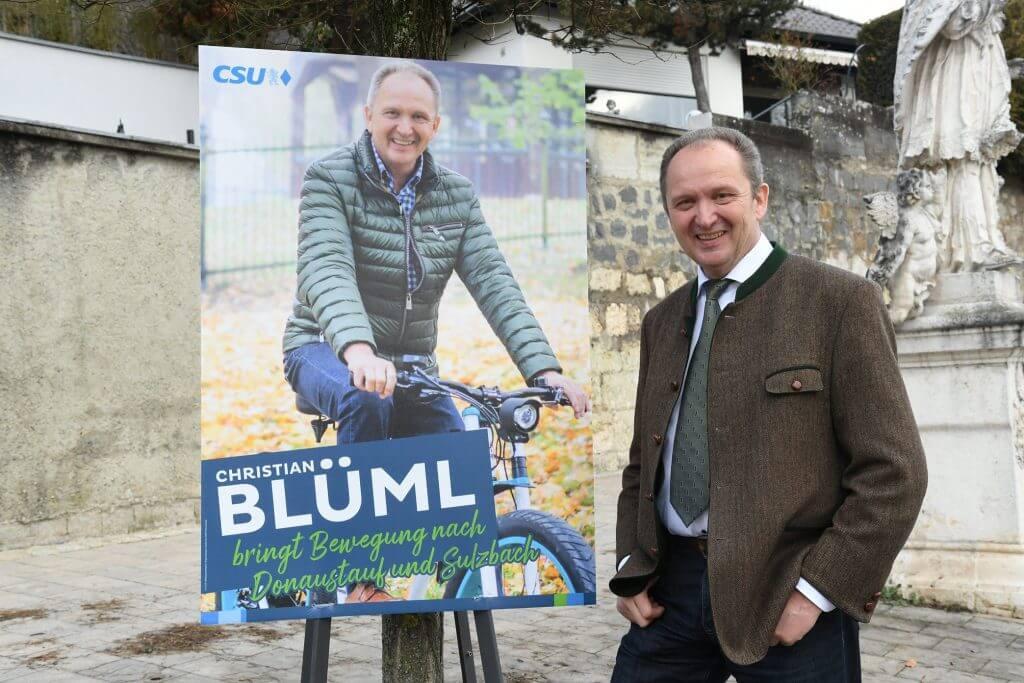 Christian Blüml - Bürgermeisterkandidat für Donaustauf-Sulzbach