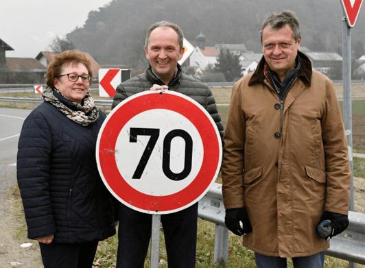 Tempo 70 für Sulzbach