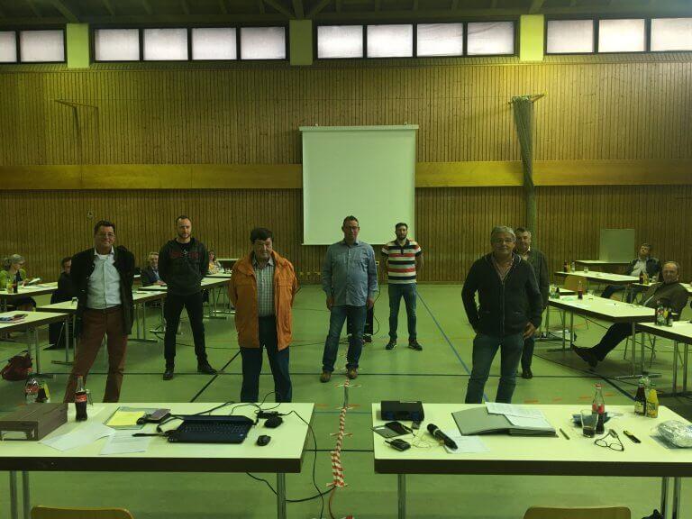 Bernd Strathmeyer, Hans Melzl, Thomas Niedermeier und Jenö Mihalyi