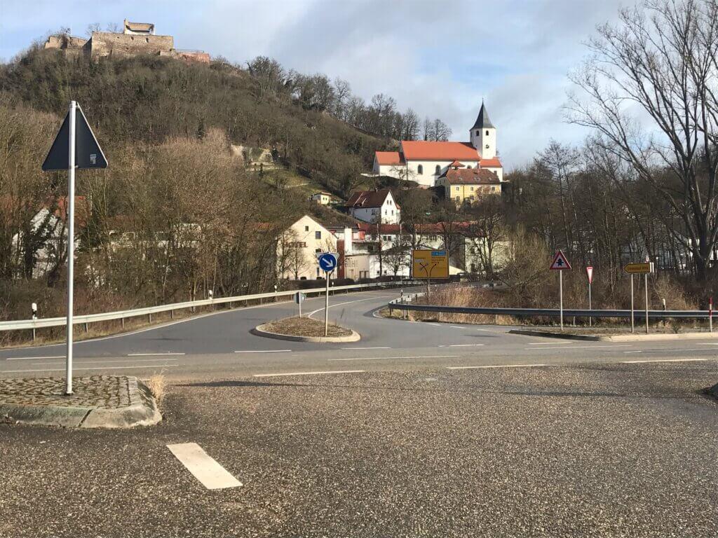 Kreisverkehr Donaustauf-Mitte