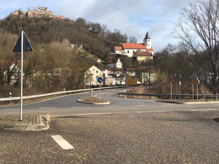 Kreisverkehr Donaustauf Mitte CSU
